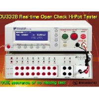DU3328 8 independent real-time open check Hipot Tester