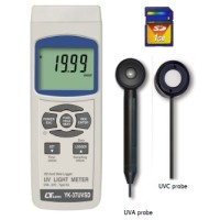 YK-37UVSD UVA, UVC LIGHT METER WITH DATA LOGGER