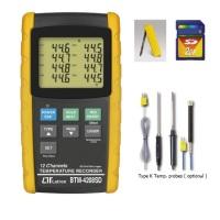 BTM-4208SD 12 Channels Temperature Recorder