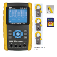 DW-6093 3 PHASE POWER ANALYZER