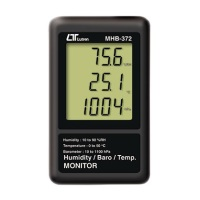 MHB-372 HUMIDITY BAROMETER TEMP. MONITOR