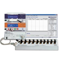 DU-9001 Electrolytic capacitor test & scanning system with leakage current test