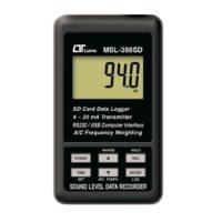 MSL-388SD Sound Level Data Recorder
